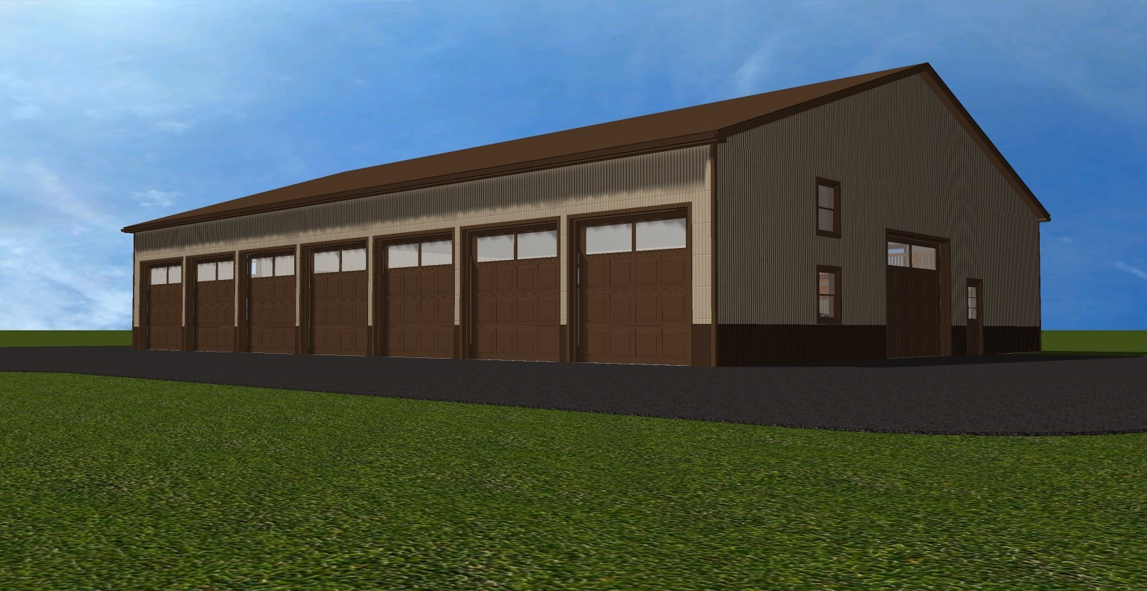 garage, pole building