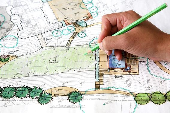 site planning, landscape design