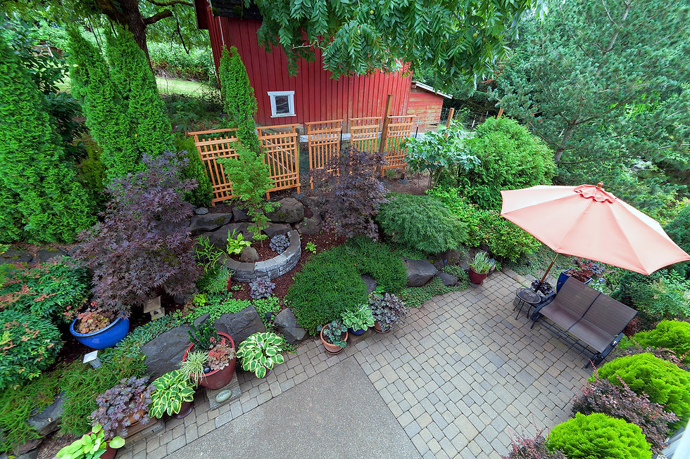 landscape design, patio hardscape