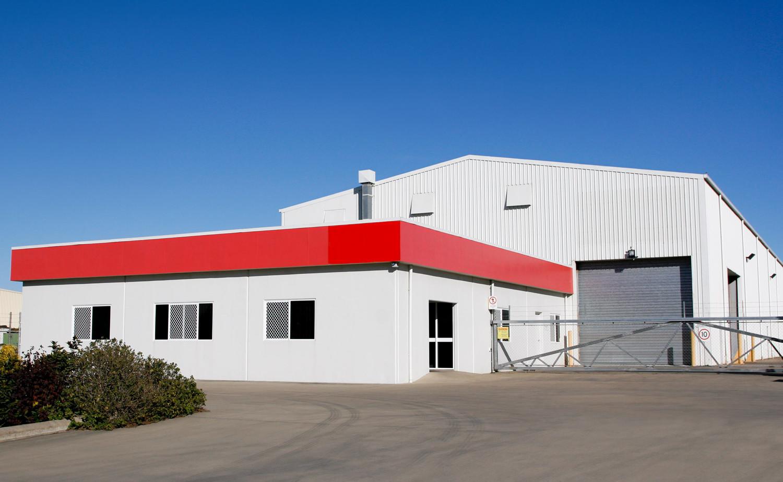 warehouse, pole building