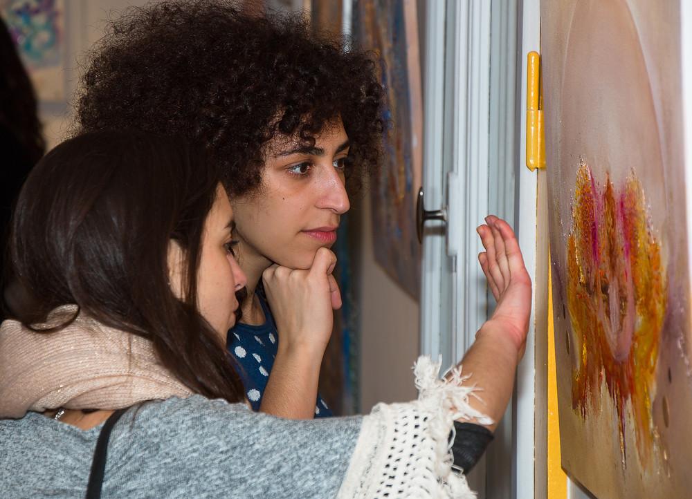 Séverine Murner: une très belle artiste peintre qui nous fait voyager avec le coeur en couleurs dans son surprenant univers pictural