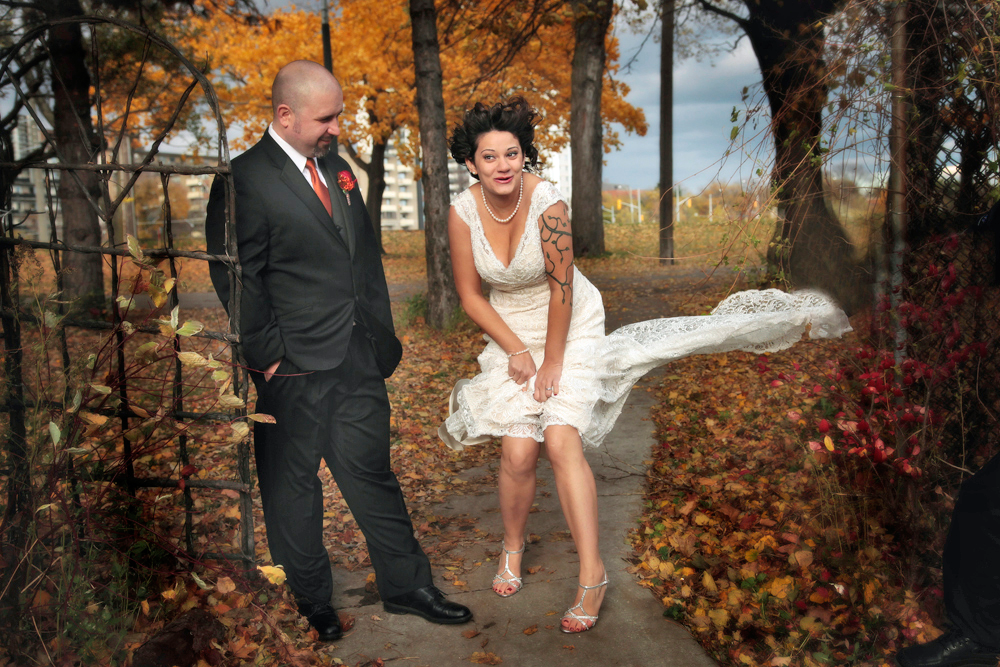 Ontario Wedding in the Fall