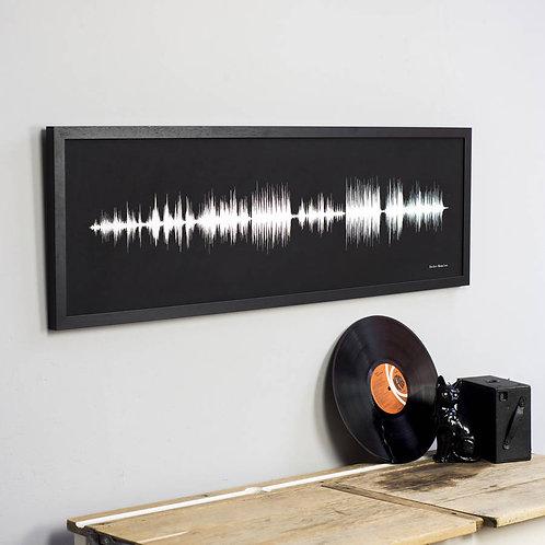 Soundwave prints 50% deposit - small size
