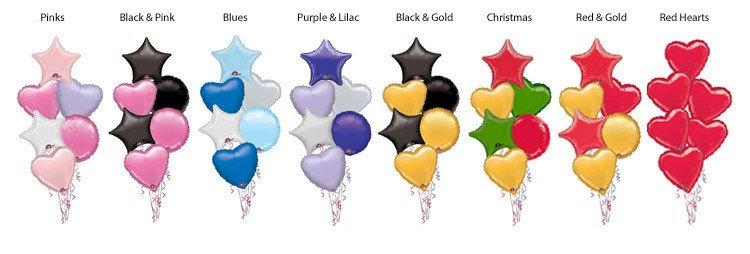Balloon Bunches.