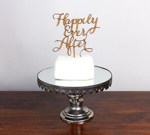 Happy Ever After Cake Topper