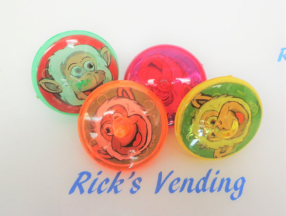 Monkey Spin Tops