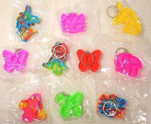 Fidget Toy - Bubble Sensory Keychain