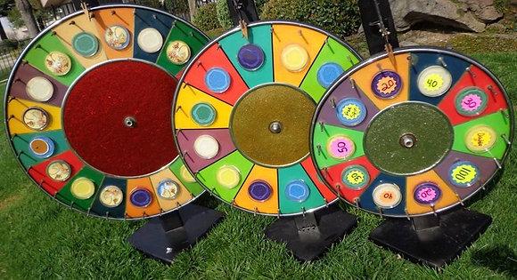 Prize Wheels Game Rental