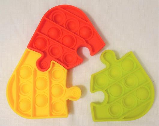 Fidget Toy - Bubble Sensory 3 Piece Puzzle