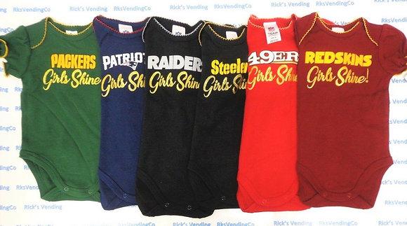 Babywear - Girl's Shine Bodysuit
