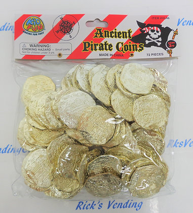 Pirate Coins 72 Ct.