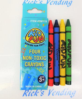 Crayons - 4 Ct.