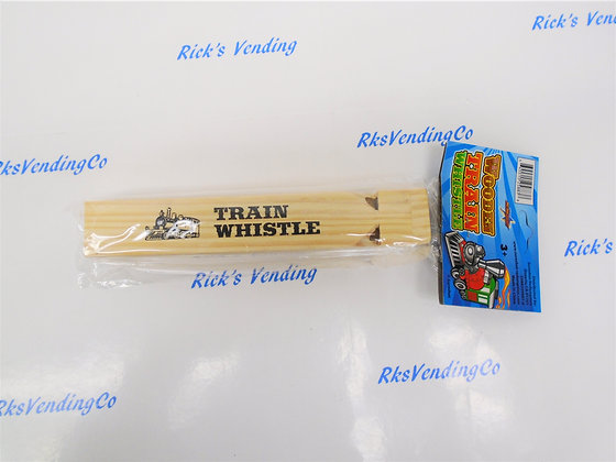 Train Whistles Wooden
