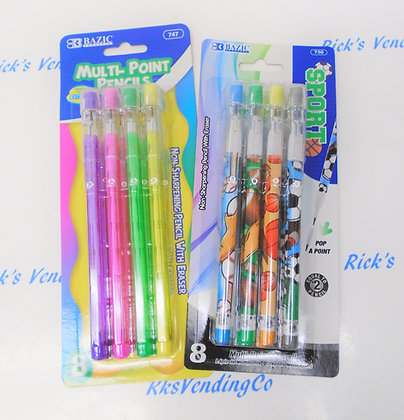 Multipoint Pencils