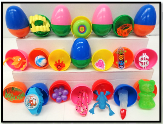 Toy Filled Vending Eggs $90.00
