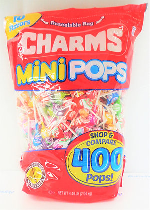 Charms Mini Pops Suckers 400 Ct.