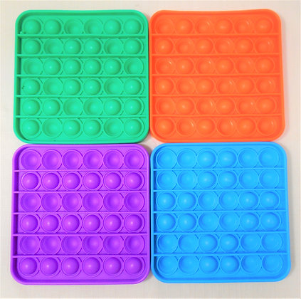 Fidget Toy - Bubble Sensory Solid Square