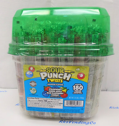 Sour Punch Twists 180 Ct.