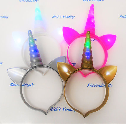 Unicorn Headband LED