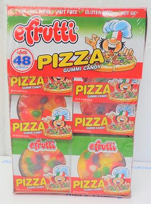 Efrutti Pizza Gummi Candy 48 Ct.