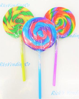 Carnival Pops Round Lollipops .4 Oz