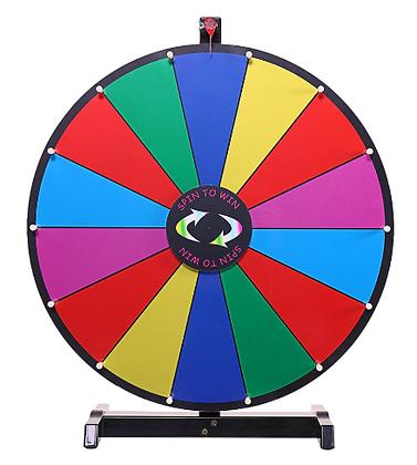 Prize Wheel Dry Erase Game Rental