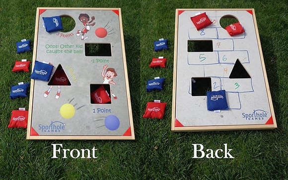 Sporthole Dodgeball & Hopscotch Rental