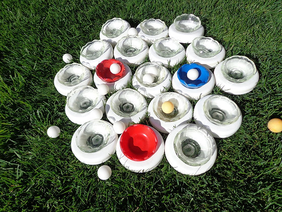 Ping Pong Pond Ball Toss Game Rental