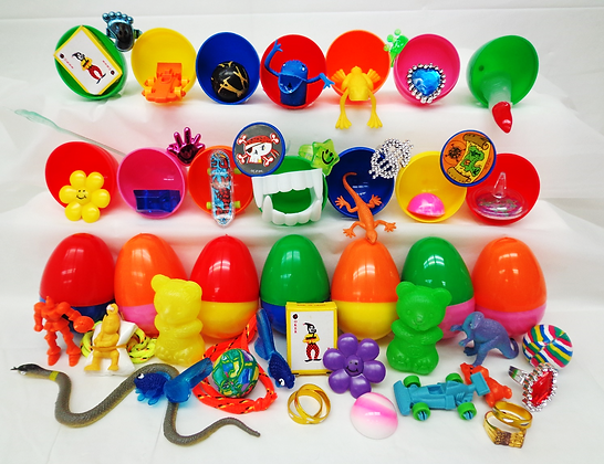 Toy Filled Easter Eggs 16¢