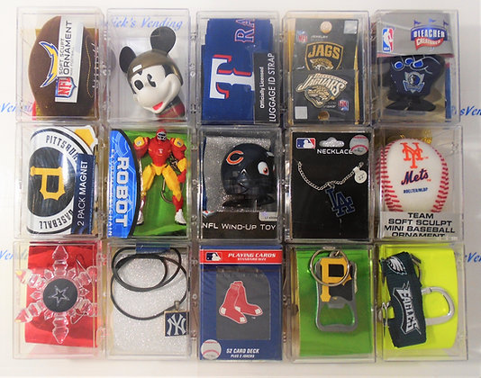 Whistle Stop Prize Licensed Sports Item Box