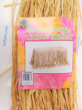 Raffia Table Skirt