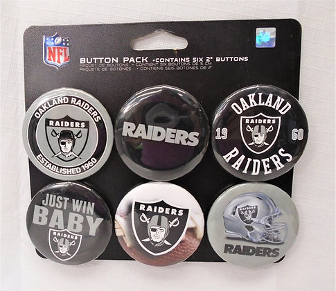 Button Pack - 6 Pack