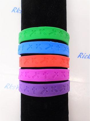 Religious Rubber Bracelet