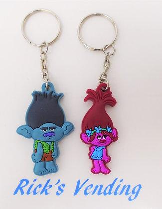 Trolls Keychain