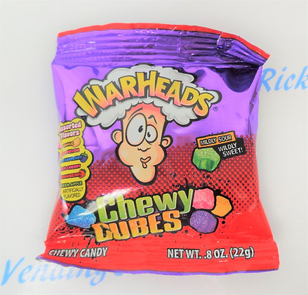 Warheads Chewy Cubes Trial Size