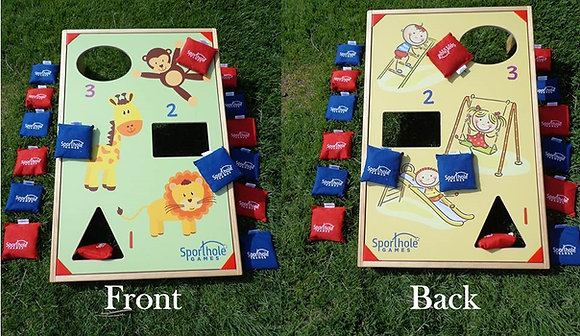 Sporthole Playground & Zoo Bean Bag Toss Game Rental