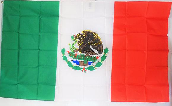 Mexico Flag 3' x 5'