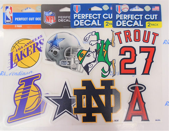 "Decal - Perfect Cut 4"" 2 Pack"