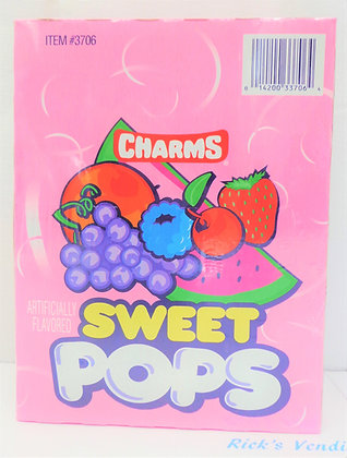 Charms Sweet Pops Suckers 48 Ct.