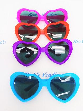 Sunglasses Heart Shaped