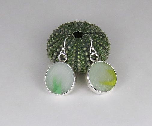 127. Ohajiki Sea Glass Earrings