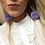 Thumbnail: Lilac Pom-pom Earrings