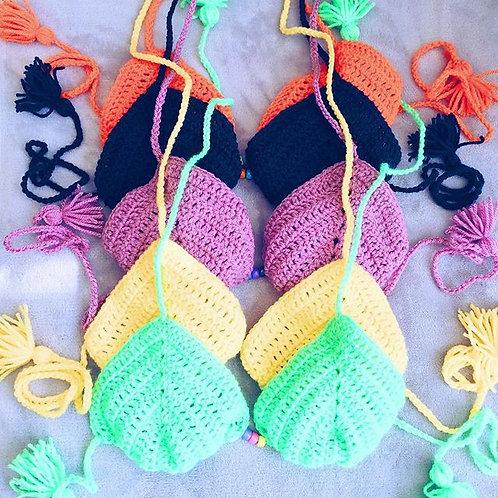 India Crochet Bikini Top