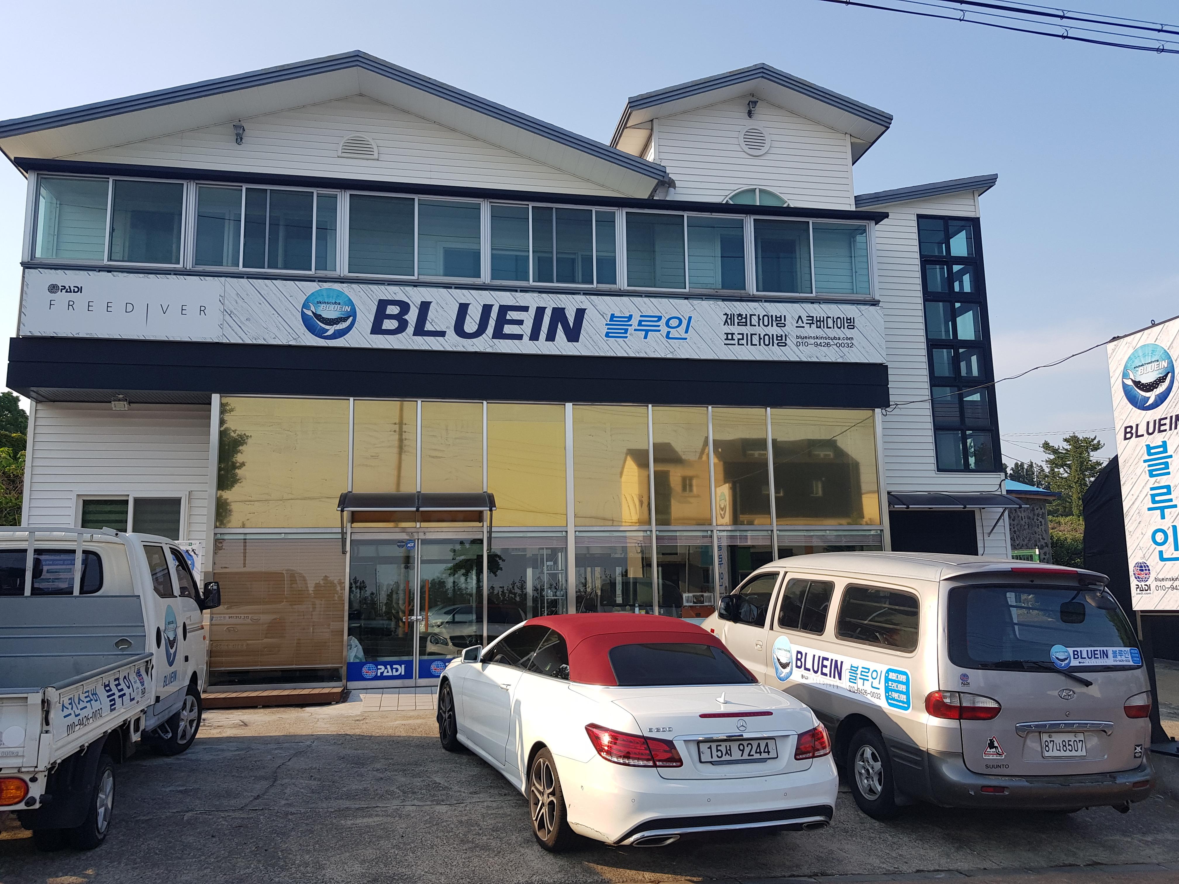 블루인스쿠버 매장 전경