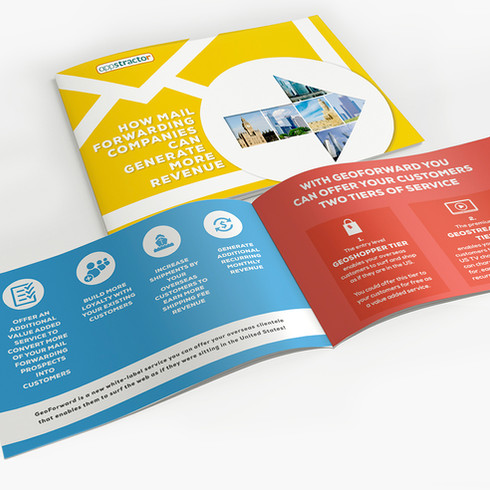 Brochure concepting and design