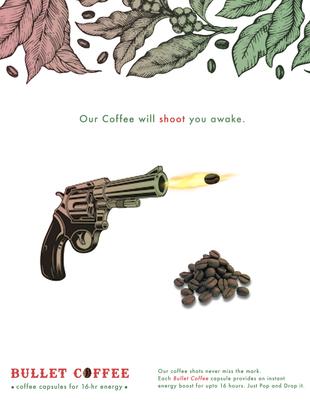 Print Ad - Bullet Coffee