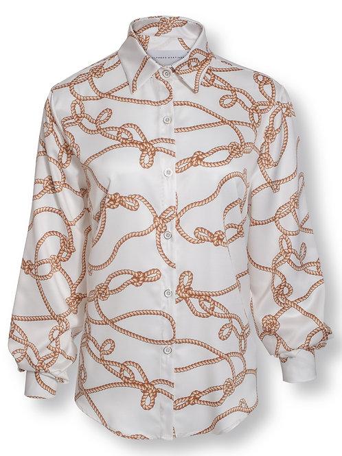Camisa Cuerdas Blanca