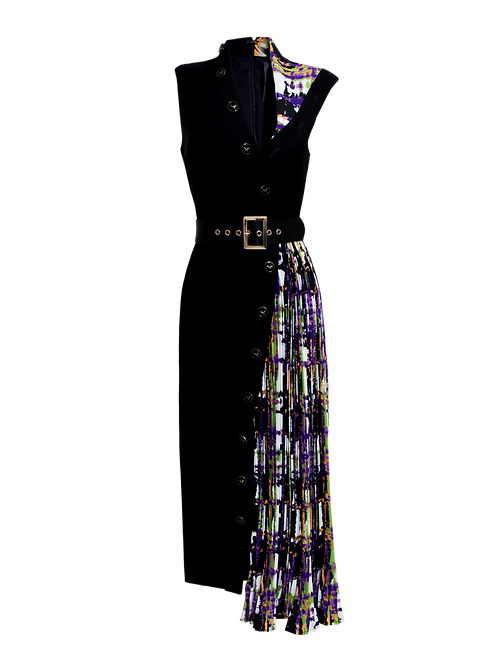 Vestido Midi Botones