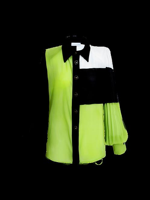 Blusa Camisera Bloques Color
