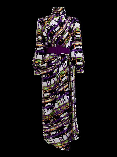 Vestido Midi Color Mix